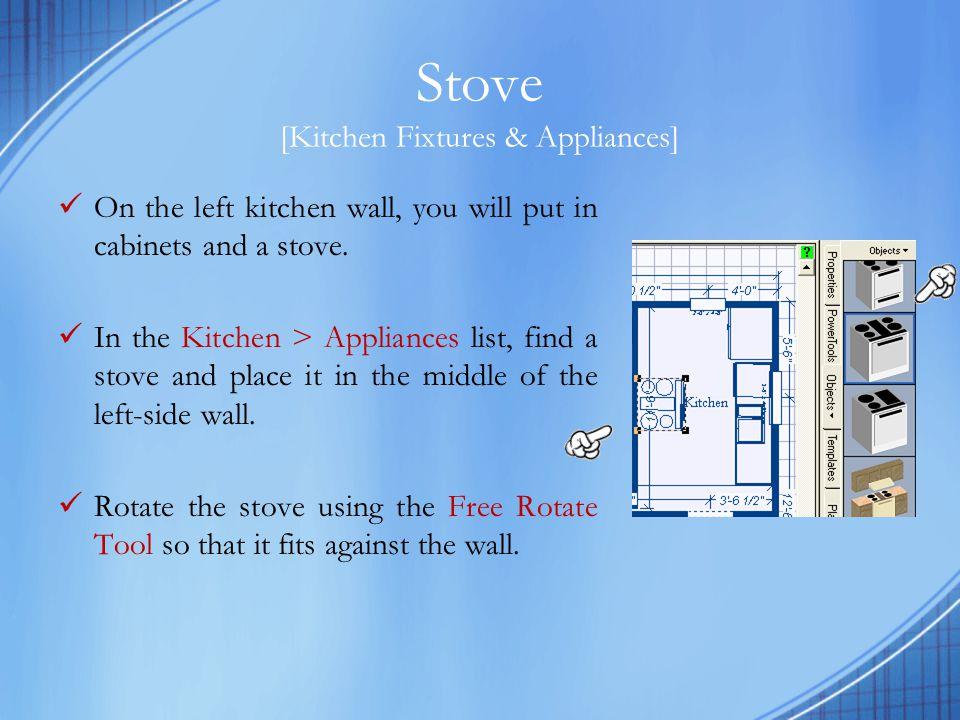 Stove [Kitchen Fixtures & Appliances]